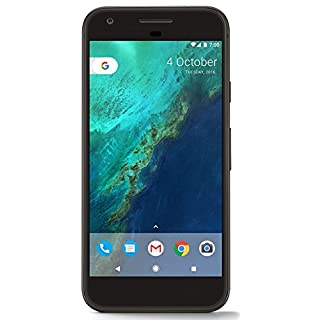 "Google Pixel 32GB Factory Unlocked (GSM only, not CDMA) 5.0"" HD Smartphone - Quiet Black"