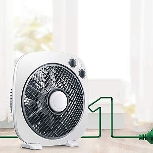Gelaiken Desktop Fan Home Fan Desktop Fan Home Turn Fan Office Light Tone Fortune Student Fan Dormitory Mini Table Fan Table Desk Fan for Home and Travel by Gelaiken (Image #5)
