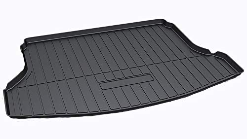 (Kaungka Cargo Liner Rear Cargo Tray Trunk Floor Mat Waterproof Protector for 2014-2018 Nissan Rogue SV S SL )