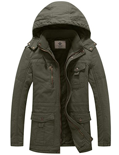 Lined Duck Hooded Jacket - 7