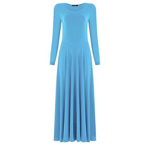 IBTOM CASTLE Women Celebration Spirit Dance Drapey Tunic Tank Pullover Blue XL -