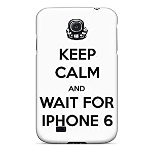 New Arrival Keep Calm And Wait GZmnQZL3848XaTMC Case Cover/ S4 Galaxy Case