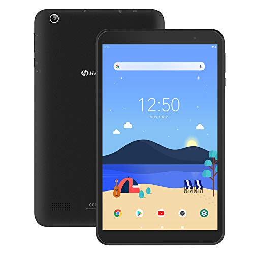 Tablet 8-Inch Android 9.0 32GB – HAOQIN H8 Pro 2GB RAM Quad-Core CPU HD IPS Display Dual Cameras Support Bluetooth WiFi…