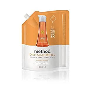 Method Clementine Washing Up Liquid Refill 1064 ml
