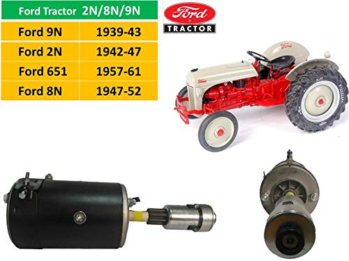 9n Ford Tractor >> Amazon Com 12v Starter For Ford 8n Ford 9n Ford 2n Tractor With