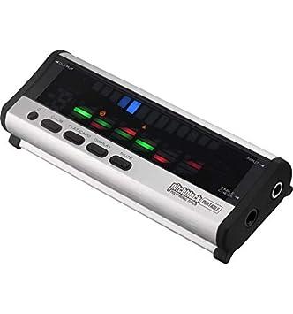 Korg Pitchblack portátil-Afinador cromático color plateado: Amazon.es: Instrumentos musicales