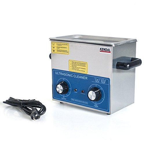 Kendal Commercial Grade 220 Watts 3 Liters Ultrasonic Cleaner HB-23MHT by Kendal (Image #1)