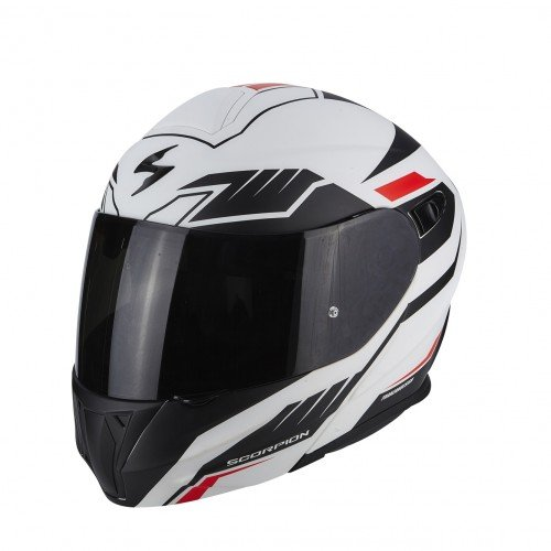 SCORPION/  / Casco moto/  / Scorpion EXO 920/ Shuttle Matt blanco negro
