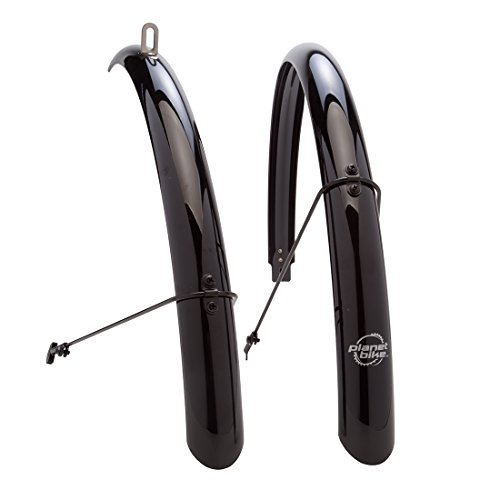 Planet Bike Full bike fenders - 700c x 45mm (Planet Bike Fenders Cascadia)