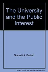 The University and the Public Interest