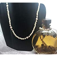 Multi-functional Ivory Pearl Simulated Necklace