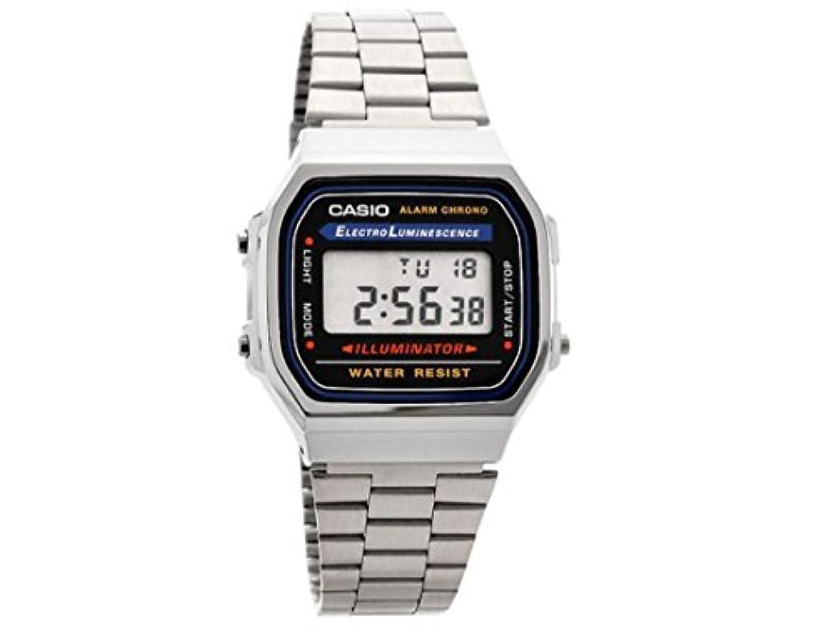 [해외] 카시오 스탠다드(STANDARD) 손목시계 블랙 맨즈 A168WA-1