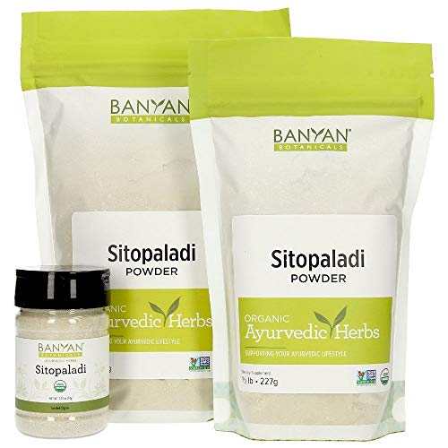 - Banyan Botanicals Sitopaladi Churna Powder - Certified USDA Organic, Spice Jar - Traditional Ayurvedic Formula for Lung Support & Healthy Breathing*