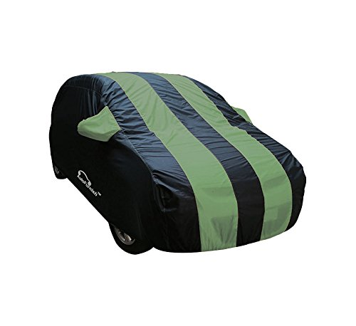 Autofurnish Stylish Green Stripe Car Body Cover For Maruti Wagon R 1.0 – Arc Blue