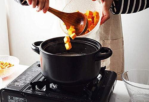 YUHT Marmite en argile avec couvercle pour cuisson lente – Grande capacité, haute température, économie d'énergie et protection de l'environnement, rose 1–3,5 L