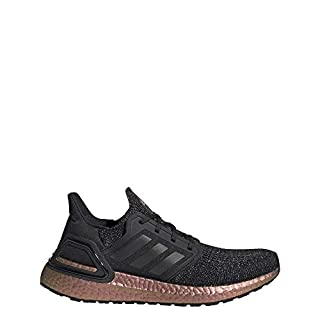 adidas womens Ultraboost 20 fashion sneakers, Core Black Core Black Signal Pink, 5.5 US
