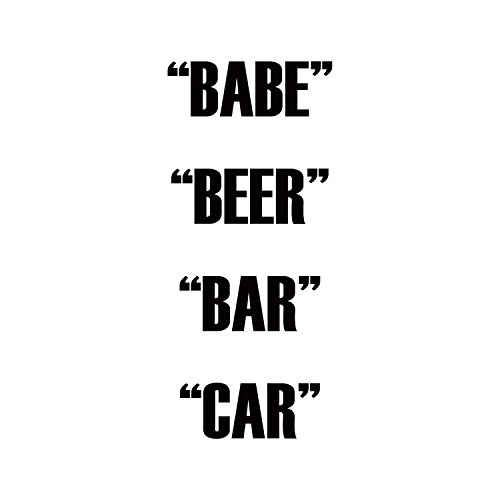 Babe Beer Bar Car