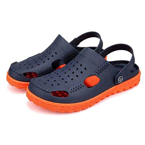 tamaño Sandalias Unisex para 2 Chancletas Slip Deportivas La Verde Hombre Naranja 42 Color 3 On Transpirables Zapatos Wangcui EU para Playa nZTdq8xAw8