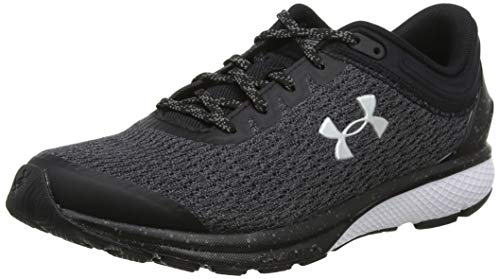 Under Armour Women's Charged Escape 3, Black (001)/White, 8