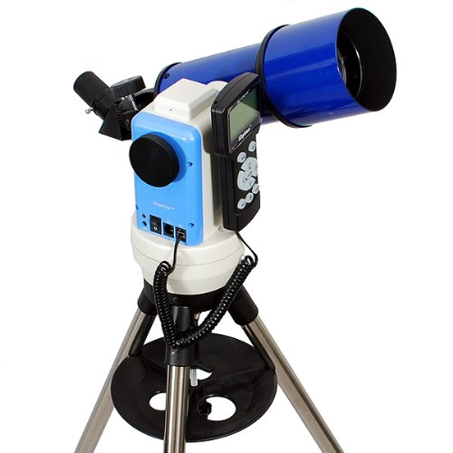 TwinStar Blue 80mm iOptron Computerized GPS Refractor Telescope