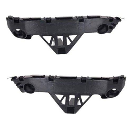 Partomotive For 10 11 12 Mazda 3 Bumper Cover Retainer Brace Support Bracket Left Right SET PAIR