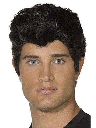 Smiffys Official Adult Grease Sandy Danny Fancy Dress Wigs DANNY WIG by Star55 -