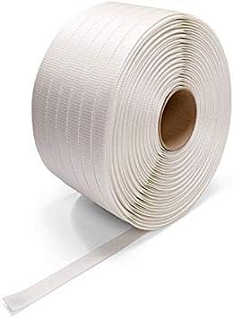 Pack de 2 Feuillards textile Tiss/é 13 mm//750 m//R540 kg Tiss/é TIGGRE.FR