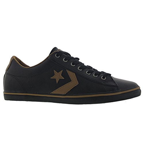 Converse Star Player Fundam Lea Negro Marrón negro