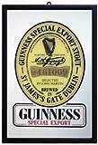 Guinness - Bar Mirror (Size: 9'' x 12'')