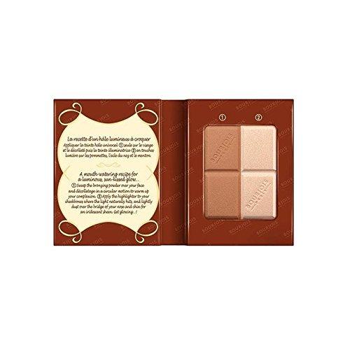 ブルジョワデリスドゥプードル蛍光ペン x4 - Bourjois Delice De Poudre Highlighter (Pack of 4) [並行輸入品] B0716DFSXG