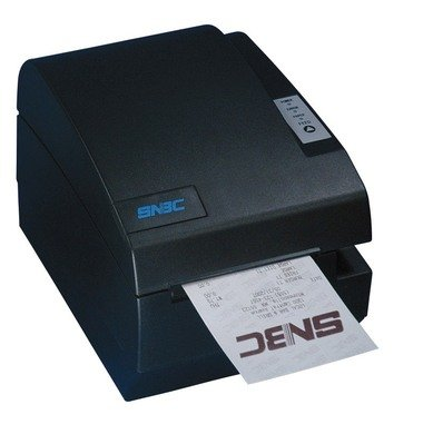 SNBC BTP-R580II SERIAL/USB POS Thermal Receipt Printer Black Front Exit Spill Proof Design 132075