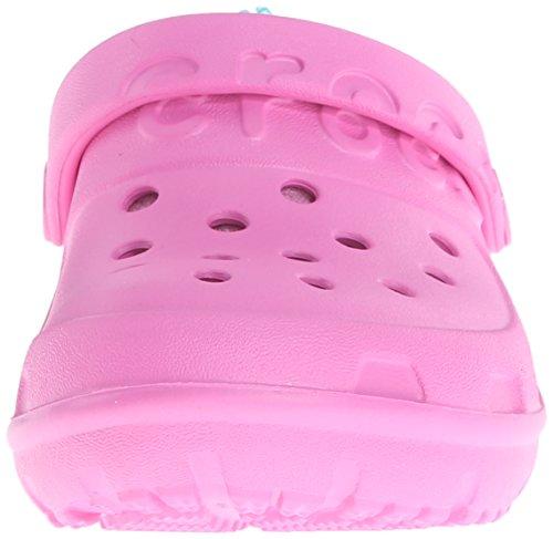 Pink Hilo bambino Clog turquoise Kids Rosa Unisex Crocs Lined party Zoccolo 7qdSzzw