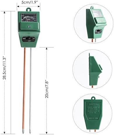 Ferme Pas Besoin de Pile VDROL 3 en 1 Testeur Humidit/é du Sol Testeur de ph Terre Capteur de Lumi/ère pour Jardin Pelouse Int/érieur et Ext/érieur