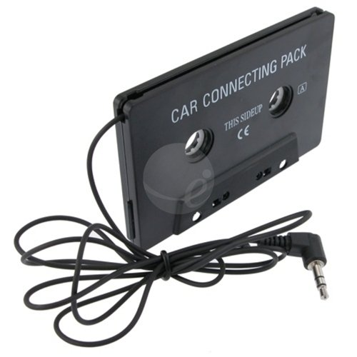 CAR CASSETTE TAPE ADAPTER for IPOD TOUCH IPHONE 4G OS 4 eForCity