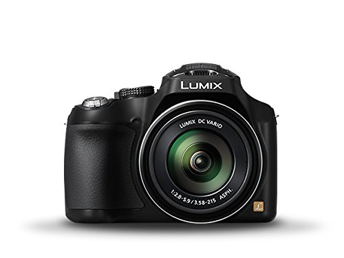 Panasonic Lumix DMC-FZ200 12.1 MP Digital Camera with CMOS Sensor and 24x Optical Zoom - Black (12.1 Mp Digital Camera)