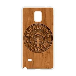 Starbucks Samsung Galaxy Note 4 Cell Phone Case White Vihvq