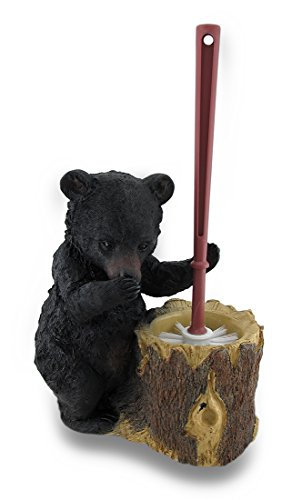 LL Home Stinky Bear Toilet Brush Holder