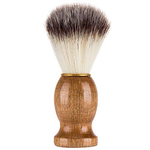 xinyiwei Men Shaving Brush Wooden Handle Shaving Beard Brush