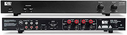 OSD Audio 75W Class D Stereo Amplifier - 2 Channel Source Switch System, XMP100