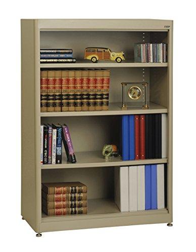 Shelf Radius Edge Bookcase - Sandusky Lee BA3R361852-04 Elite Series Radius Edge Welded Bookcase, 18