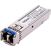 10Gtek for TP-LINK TL-SM311LS, 1000Base-LX Gigabit SFP Mini GBIC Transceiver module, SMF, 1310nm, 10KM
