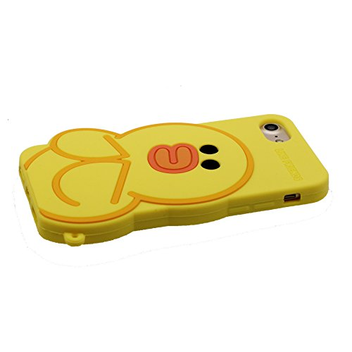 "Coque iPhone 6, iPhone 6s Étui (4.7""), [ TPU Material Flexible ] iPhone 6 case (4.7""), Dust Scratch Resistant, 3D canard souple et ring Support de téléphone"