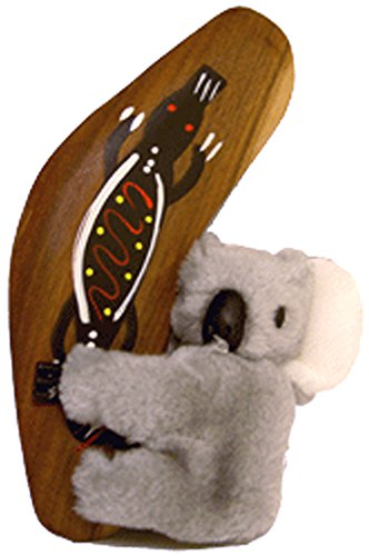 Klippy Koala with Authentic Aboriginal Hand Painted - Australian Boomerangs Aboriginal