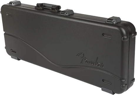 Fender 099-6102-306 Estuche moldeado Deluxe Strat/Tele Black: Amazon.es: Instrumentos musicales