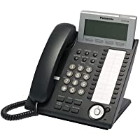 Panasonic KX-DT346-B 24-Button 6-Line Backlit LCD Display Digital Telephone, Black (Certified Refurbished)