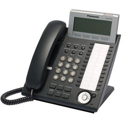 24-Button 6-Line Backlit LCD Display Digital Telephone, Black (Certified Refurbished) (Panasonic Digital 24 Button Speakerphone)