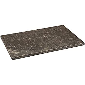 Amazon Com Creative Home Charcoal Marble Pastry Board 12