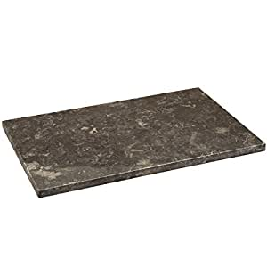 Amazon Com Creative Home 74660 Natural Charcoal Marble