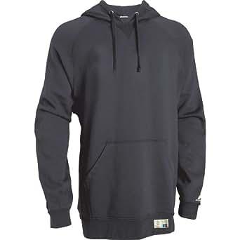 Russell Athletic mens Tech Fleece Pullover Hood(854EFM)-BLACK-S