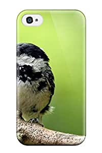 Awesome Case Cover/iphone 4/4s Defender Case Cover(coal Tit) by icecream design